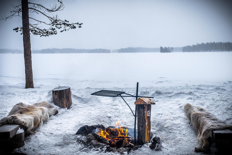 Fire Camp - Hossa Finland