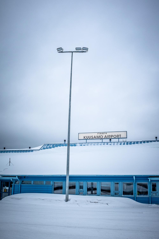 Kuusamo Airport- Hossa Finland