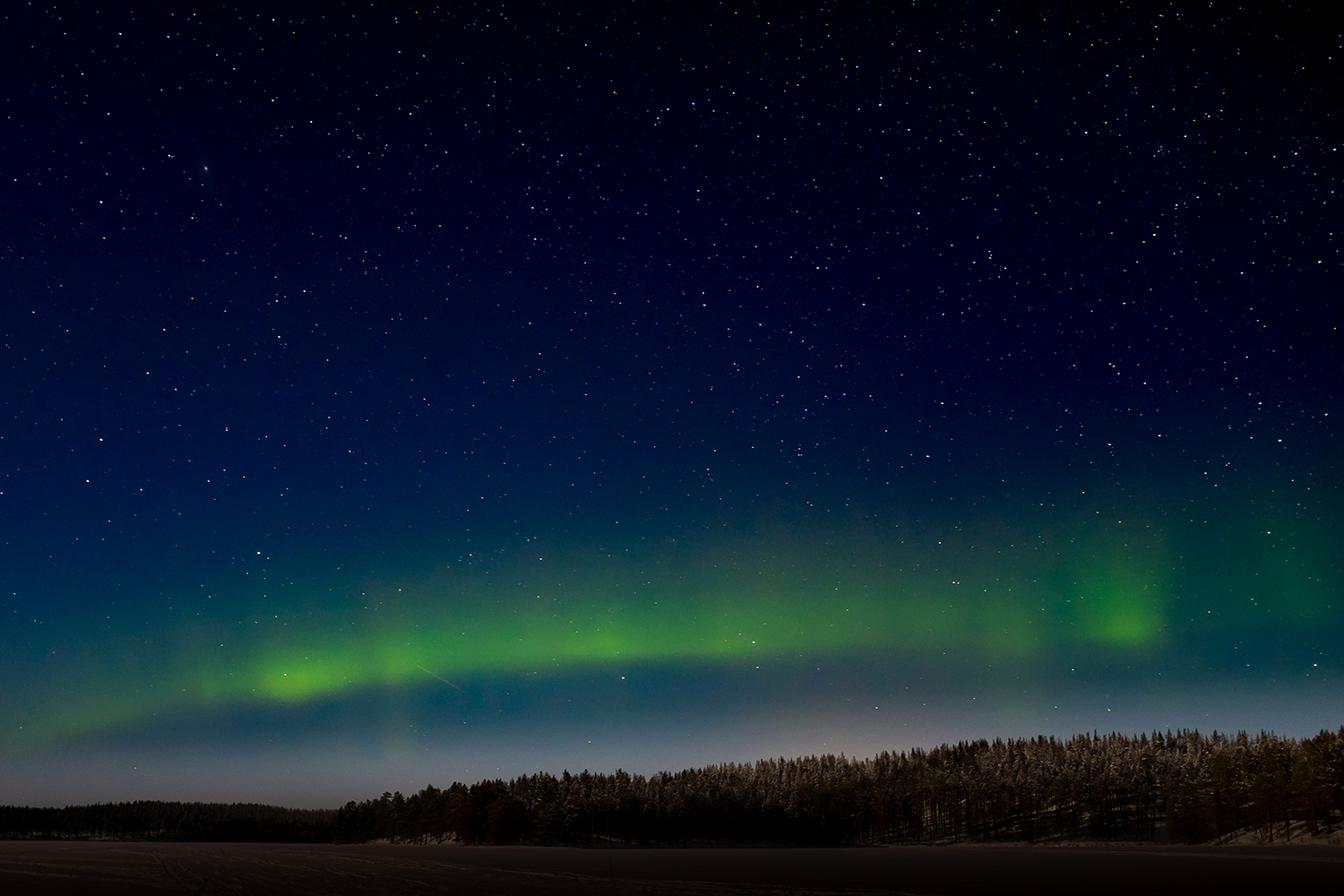 Northen lights - Hossa Finland
