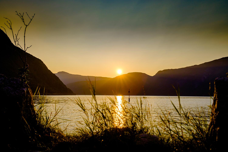 Sunset Eidfjord - Norway
