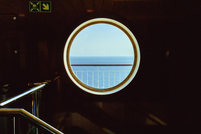 Ferry Oslo Kiel - Porthole