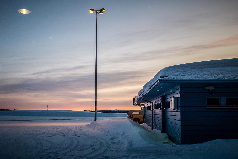 Kuusamo Airport - Hossa finland