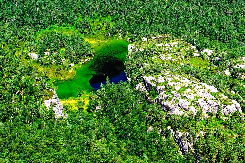 Lake - Preikestolen trail - Norway
