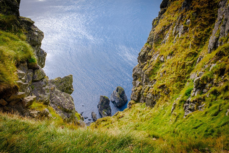 Runde island cliff - Norway