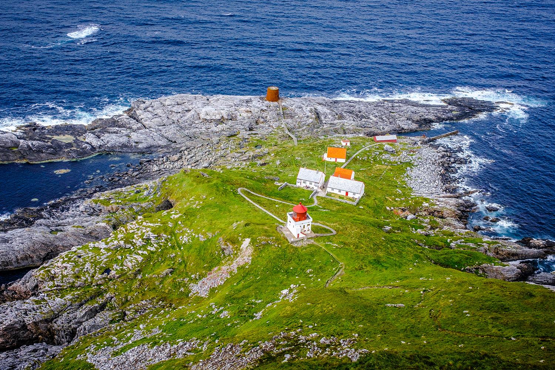 Runde island Lighthouse - Norway